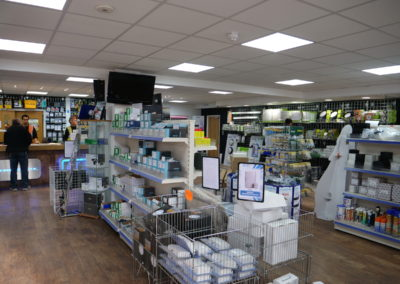 Trade counters in both Brentford London and Reading Berkshire providing electrical supplies to London and the rest of the UK