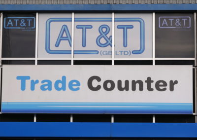 Trade Counter for Electrical Supplies at AT&T GB LTD based in Brentford London UK