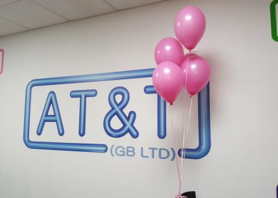 Wear it Pink at AT&T GB LTD